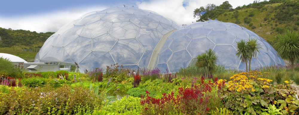 7 UK Garden tour The Eden project